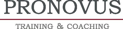 PRONOVUS Training & Coaching Logo